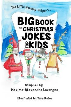 Win a copy of this amazing new book! Big Book of Christmas Jokes for Kids!: A Book of Giggles from The Little Holiday Helper! by Maxime-Alexandra Lavergne More details at https://www.facebook.com/EasyFreeSantaLetters