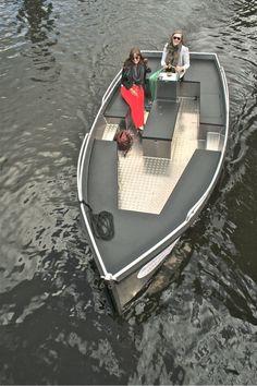 Lekker relaxed varen in Haarlem. De nieuwe manier van sloepverhuur