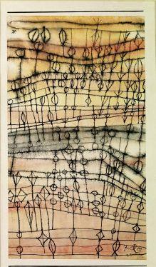 Ripe Harvest 1924 - Oil painting on canvas - Paul Klee