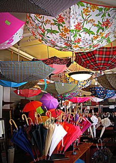 5-12-12 Umbrellas on a Sunny Day, via Flickr.