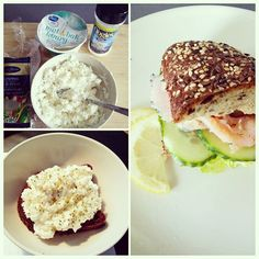 Recently I've been experimenting a lot with food.  One of the inventions that I just love is the egg white spread made of #boiled #egg #whites #lactosefree #lowfat #cottagecheese #kvarg #whitepepper and #garlic! Yummy!  Goes with almost everything :) #fit #fitfam #diet #determination #eathealthy #nutrition #snack #protein #lowcarb #bread #carbzobe #salmon #sandwich #foodporn #instafood #foodforlife #foodgasm #guiltfree #lovetocook