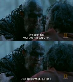 Vikings-Floki & King Aella