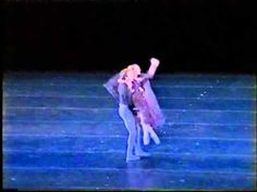 In the Night, Maria Eichwald, Jerome Robbins - YouTube   This is *usually* not my favorite segment of this ballet. But Maria portrays it with softer lines, and more fickle than angry. I prefer her interpretation to others.
