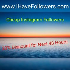 IHaveFollowers.com offered you world class Instagram Services 247.  We are offering Instagram followers likes automatic likes and comments.  For more detail please visit:http://ift.tt/1WZXWba  #instagram #follow #followers #followback #buyfollowers #instagramfollowers #cheapfollowers #activefollowers #instantfollowers #famous #socialmedia #instantfollowers #buyuk #buyusa #instagramfollowers #instagramers #followersneeded #followerswanted #uk #usa #morocco #myabudhabi #uae #india…