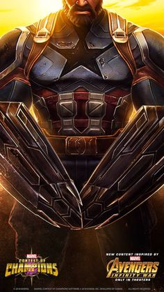 Captain America (Infinity War) Comes To Marvel Contest Of Champions Marvel Comic Universe, Comics Universe, Marvel Dc Comics, Marvel Heroes, Marvel Avengers, Capitan America Marvel, Marvel Captain America, Marvel Games, Mundo Marvel
