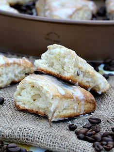 Vanilla Hazelnut Scones {Outdoor Brunch Party} - Peas and Peonies