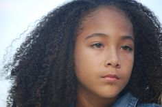 Great natural hair products for mixed race children- blended beauty