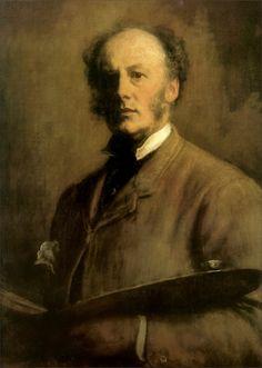 John Everett Millais · Autoritratto · 1847 · Uffizi · Firenze