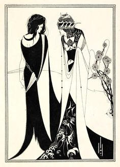 How Aubrey Beardsley's Visionary Illustrations for Oscar Wilde's 'Salome' Subverted Victorian Gender Norms and Revolutionized the Graphic Arts – Brain Pickings