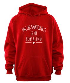 jacob sartorius is my boyfriend hoodie