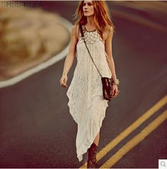 SMSS 2014 summer plus size sleeveless off the shoulder white vestidos sexy lace backless bodycon maxi dress Irregular long dress US $26.20