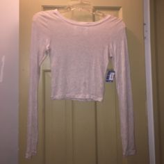 Free People Intimately Crop Top NWT Brand New!! Free People Intimately Crop Top Size XS. Please ask all questions prior to buying. I Bundle. Free People Tops Crop Tops
