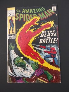 Amazing Spider-Man #77! Silver Age! 1969! Marvel! Stan Lee! John Romita!