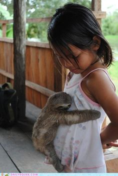 Talk about a slow hug