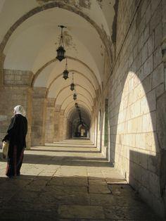 In the Al Aqsa mosque compound