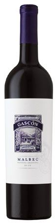 Gascon Malbec - Argentine wine is  oak and spice with a velvety finish perfect to pair with chocolate desserts.