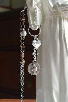 Saint Francis Necklace,Christian Catholic Jewelry Religious Catholic by FifteenMagpieLane