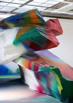 Katharina Grosse 3 médium=couleur