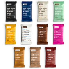 Whole Food Protein Bars with Real Ingredients   RXBAR