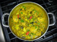 curry chicken with eggplant✔