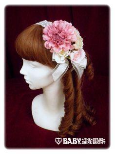 追憶の鏡の中のLabyrinth ローズヘッドドレス (Labyrinth in the Reminiscent Mirror Rose Head Dress)