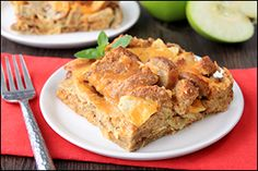 Hungry Girl's Happy Apple-Sausage Breakfast Strata