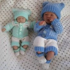 "10 &15"" Doll / Premature Baby #38"