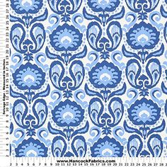 Grand Ikat 002 Blue Traditional Ikat Cotton Fabric - Sold By the Yard Golding Fabrics http://www.amazon.com/dp/B011VQE6OW/ref=cm_sw_r_pi_dp_-e9vwb0EC27GW