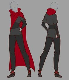 Image Result For Red Male Battle Outfit Anime Drawing Clothes