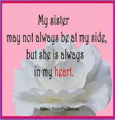 sister in heaven Sister In Heaven, I Miss My Sister, Dear Sister, Sister Friends, Sister Sister, Missing My Sister Quotes, Lil Sis, Sibling Quotes, Family Quotes
