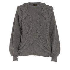 Stine Goya Lambswool braided knit