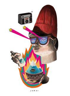 Obras de arte pop por Alejandro Sordi | OLDSKULL.NET