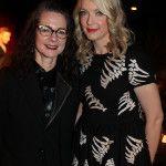Prof Frances Corner OBE and Lauren Laverne. Image: Alex Maguire