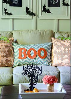 Halloween Living Room Sofa Pillow Decor
