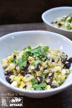 Corn & Black Bean Qu