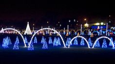 Shadrack's Christmas Wonderland brings a Christmas light spectacle to cities around the country, including Nashville, TN, with a light show set to favorite holiday tunes.