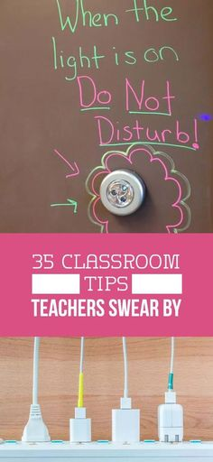 35 Smart Classroom Ideas From Real-Life Teachers : 35 Classroom management tips teachers swear by! Ideas for elementary, middle, and high school classrooms. Classroom Hacks, Classroom Management Tips, Middle School Classroom, Classroom Setup, Middle School Science, Math Classroom, Future Classroom, Classroom Libraries, Behavior Management