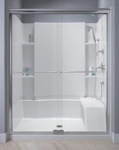 sterling kohler walk in shower | Sterling Shower Units