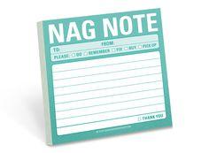 Nag Note Sticky