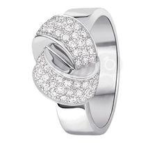 Dinh Van  Bague Alix Diamants Or Blanc