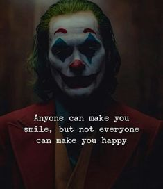 Anyone can make you smile, but. not everyone can make you happy - iFunny :)