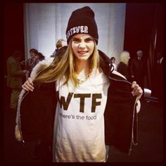.@Mini C Delevingne | Whatever!! Where's the food?! | Webstagram - the best Instagram viewer