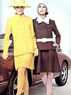 1960s NINA RICCI DRESS, JACKET PATTERN A LINE DESIGN VOGUE PARIS ORIGINAL 1998 | Lovely