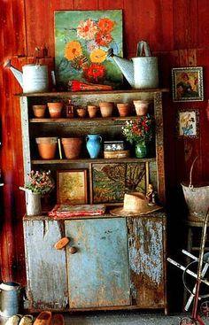 garden cabinet | Mary Randolph Carter