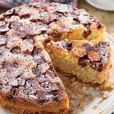 Buttermilk, can use regular flour. A gluten-free upside down fruit cake fit for summer.