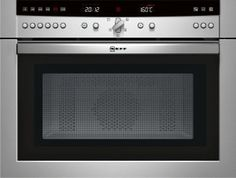 NEFF Combi Micro Oven - that's right. a Microwave, a Grill & a Fan Oven. all combined into one appliance. with Intelligent Programs!