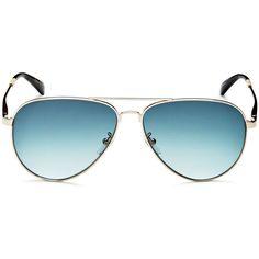 Toms Maverick Aviator Sunglasses, 59mm (460 PLN) ❤ liked on Polyvore featuring accessories, eyewear, sunglasses, toms eyewear, aviator sunglasses, toms sunglasses, toms glasses and aviator style sunglasses