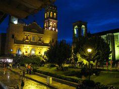 Tapalpa at night  Mexico