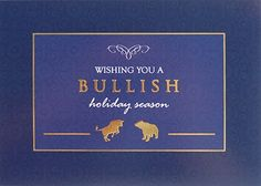 15 best christmas cards images on pinterest christmas cards wall street greetings the premier provider of corporate greetings bullish holiday season m4hsunfo