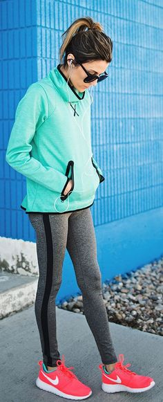 The perfect running ensemble | running | outdoors | exercise | nike | fashion | workout gear